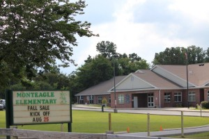 Monteagle Elementary School... Photo by Barry West