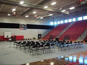 New gym at Coffee Middle