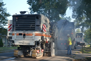 Paving taking place this week in Tullahoma.. Photo by Winston Brooks
