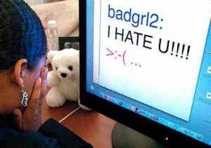 PHOTO: More than half of teens surveyed for the Pew Research Internet Project said they'd observed instances of cyber-bullying. Photo courtesy www.bullyingeducation.org.