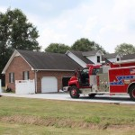 New Union Fire Department responded to a call in Goodman Trace on Thursday afternoon... Photo by Barry West