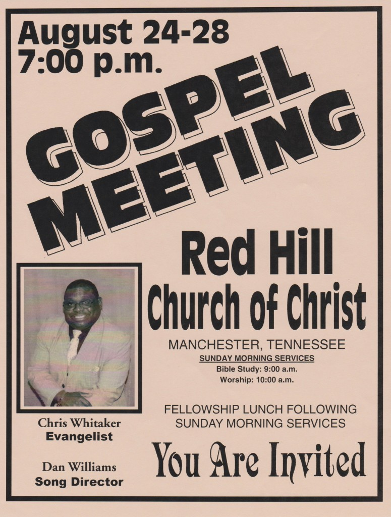 gospel meeting