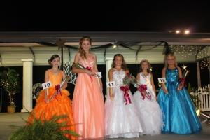 Jr Miss Coffee County 9-12 year-olds.