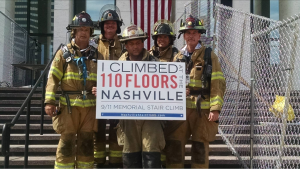 Participating firemen from Manchester were Eli Kidder and Joey Baumstien. Drive/Operator Jeremy Woods, Lt. Mark Reed and Chief George DeShields.