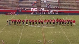 Tuesday was 8th grade recognition night for the middle school Raiders.. Photo by Dennis Weaver