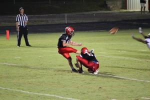 Kicker Cole Hawkins booted 6 extra points on the night.