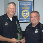 L to R: Sergeant Phil Henderson and Officer Rocky Ruehling