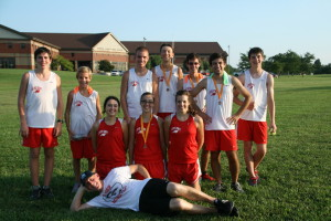 The CHS Cross Country team competed at Warren County on Tuesday.   Photo courtesy of Pascale Randolph