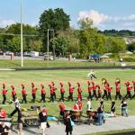CCCHS Band performing in Hendersonville.. Photo form band's Facebook page.