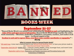 banned books week flyer