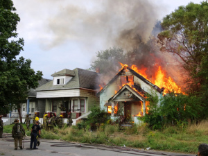 PHOTO: Fire evacuation drills should be held in every home, according to a new safety campaign from the American Red Cross. Photo credit: Sean Marshall/Flickr.