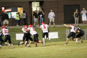 Alontae Taylor #6 scores one of his 6 TD's against the Rebels.