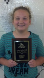 Emily Whitten - Aaron's Sales and Lease Student of the Week