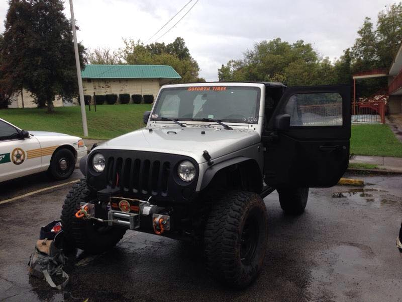 Meth Lab and Stolen Jeep Discovered At Manchester Motel