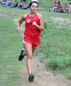 CHS Cross Country runner Kayla McCormick (file photo)