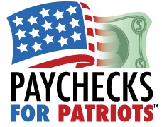 Pay checks for Patriots
