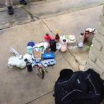 Meth lab materials found at a local motel... Photos provided