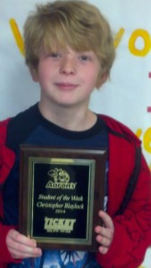 Christopher Blaylock - Aaron's Sales and Lease Student of the Week