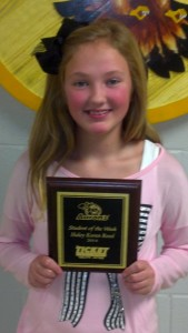 Haley Koren Sherrill - Aaron's Sales and Lease Student of the Week