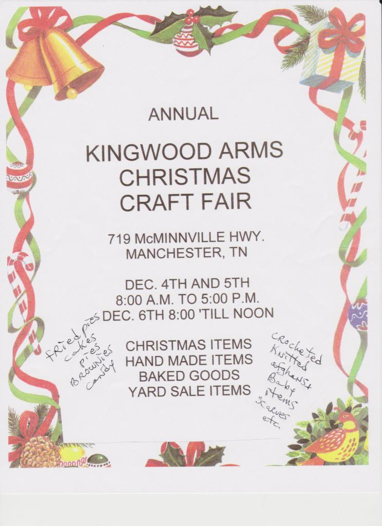 kingwood arms