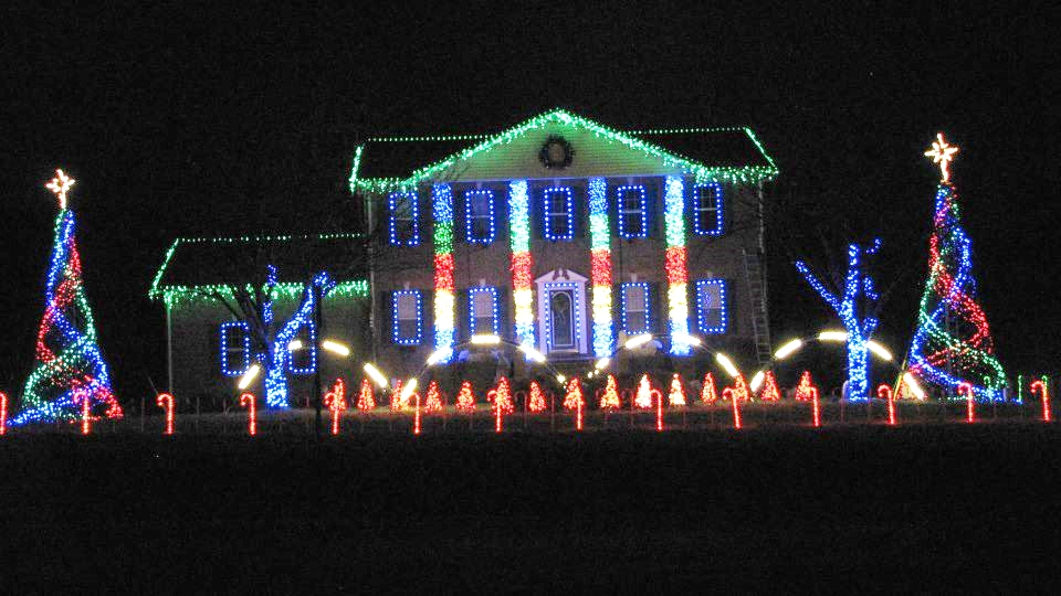Christmas Light Shows. Delaney home in Hillsboro. - Christmas Light Shows » Thunder Radio