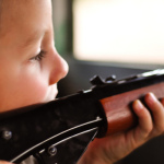 Toy guns are the most often cited culprits when it comes to toys and childhood eye injuries in the U.S. Photo credit: Jamie Wallace/Flickr.
