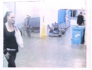 Call Manchester Police if you can identify this woman.