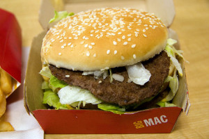 PHOTO: In the wake of a new campaign from the U.S. Public Interest Research Group, McDonald's is being urged to stop using meat that's been raised with antibiotics. Photo credit: Elliot/Flickr