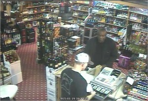 Contact Tullahoma Police if you can identify the black male in this picture.