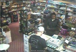 Tullahoma Police wants to talk to the black male in this picture. If you can identify him call police.
