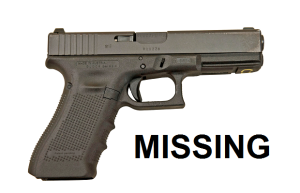 Photo from WGNS. Not actual gun.