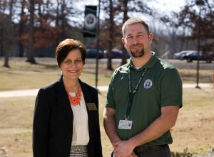 Pat Hendrix, interim director of nursing and allied health, and Drew Hooker, emergency medical services program director, are in the process of preparing for the accreditation of Motlow College's new paramedic program. The process is expected to be completed by the summer of 2016.