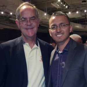 Cesar Bautista has lived in Tennessee since he was 8 years old and now joins other immigrants in advocating for in-state tuition. (Pictured here with Congressman Jim Cooper who has spoken out in support of immigration reform. (5th District-D). Photo credit: Bautista