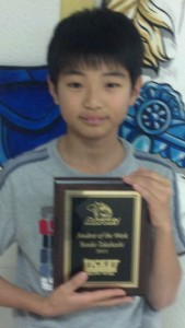 The Aaron's Sales and Lease Student of the Week - Yusuke Takahashi