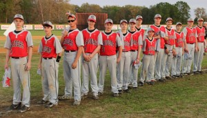 The 2015 CCMS Baseball 8th graders