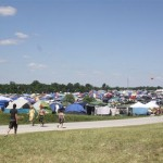 Bonnaroo camp sites in 2015... Photo by Barry West
