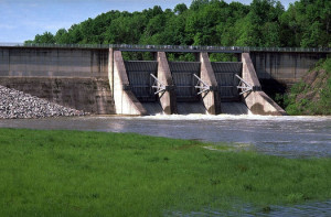 The EPA says its final Clean Power Plant is coming in August, which could affect energy generation at TVA facilities like the Tellico Dam. Photo credit: Tennessee Valley Authority, Wikimedia Commons.