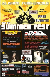 summer fest is this saturday thunder radio. Black Bedroom Furniture Sets. Home Design Ideas