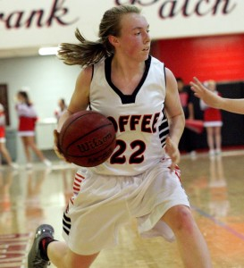 Bailey Morgan of CHS basketball(Photo by Jay Bailey - Manchester Times)