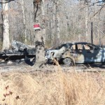 Fire takes two lives on Lloyd Boynton Road in the northern part of Coffee County... Photo by Barry West