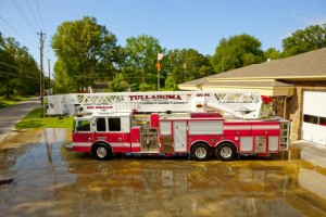 Tullahoma ladder truck... Photo provided.