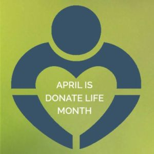 April is Donate Month