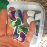 If ingested, laundry and dish detergent pods can cause injuries to the throat, lungs or skin. (S. Carson)