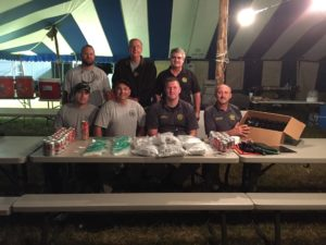 Picture provided from Thursday's drug bust... In front (L-R) Deputy Toby Alonso, Investigator James Sherrill, Deputy Brandon Reed, Investigator Kerry Farrar. In back Reserve Deputy Justin McIntosh, Deputy Wendell Norton and Sheriff Steve Graves