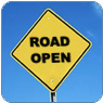 road_open_sign
