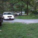 Deputies on the scene at home in Coffee County during the roundup on Friday, August 12.