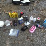 Items found in Meth lab bust... Photo provided