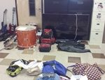 Some of the alleged stolen items that were recovered.