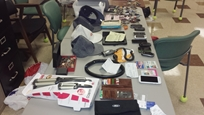 More items recovered