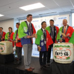 Commissioner Randy Boyd of the Tennessee Department of Economic and Community Development, participated in the Kagami Biraki, a traditional sake barrel ceremony… Photo and a portion of this story from WGNS Radio